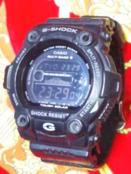 カシオG-SHOCKタフソーラー電波腕時計GW-7900Bブラック定24200円