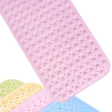 介護 浴槽 滑り止め バスマット 転倒防止 ピンク