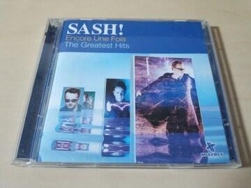 SASH! CD「グレイテスト・ヒッツ&リミックス」2枚組●