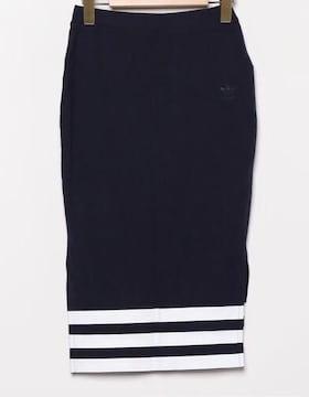 adidasアディダス☆ネイビータイトスカート