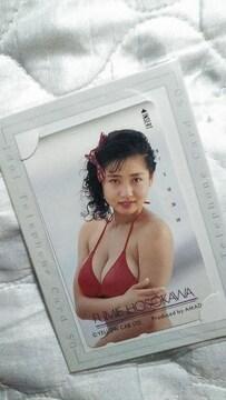 新品テレカ-細川ふみえ AMADA