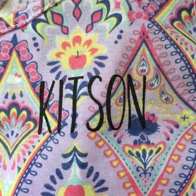 kitson L.A.×ハローキティ・Aラインマキシ丈ワンピースLL < ブランドの