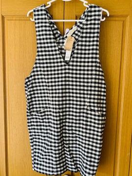 wcloset☆ギンガムジャンパースカート