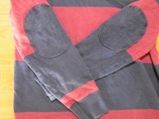 ラルフローレン ラグビー ラガーシャツ USA−M < ブランドの