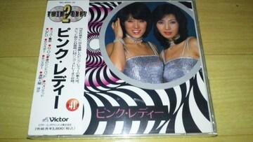 廃盤新品!ピンクレディー「 TWIN BEST」(1995年発売盤)☆