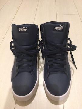 新品未使用★送料無料★PUMAプーマスニーカー靴ハイカット26.5�p