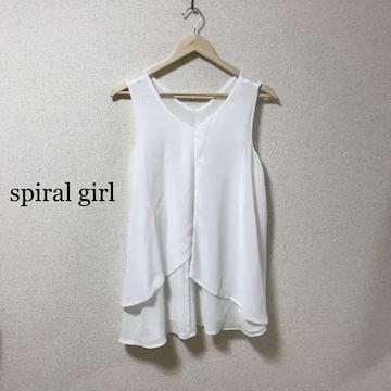 spiral girl 2wayシフォンチュニック
