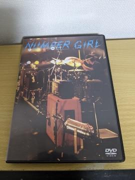 NUMBER GIRL「ナンバーガール映像集」向井秀徳/ZAZEN BOYS/中尾憲太郎