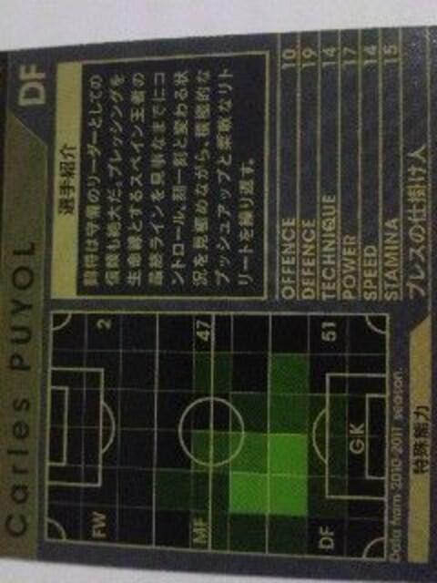 WCCF非売品SP[1011カルレスプジョル]FCバルセロナ < トレーディングカードの