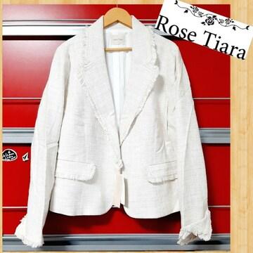 定価41000円 Rose Tiara ローズティアラ 新品 ジャケット 46 セレモニー