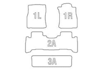 Clazzio 立体フロアマット ラバータイプ 12#系ランクルプラド