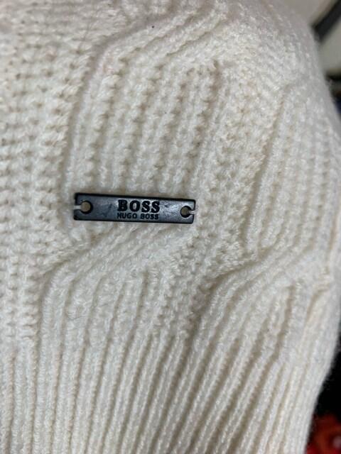 ヒューゴボス 羊毛セーターXXL美品 < ブランドの