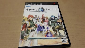 PS2☆シャイニングフォースネオ☆シリーズ作品。ロープレ。SEGA。