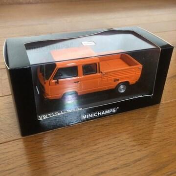 Minichamps 1/43 VW T3 DOKA-PRITSCHE 1983