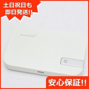 ●安心保証●新品同様●401HW Pocket WiFi ホワイト●