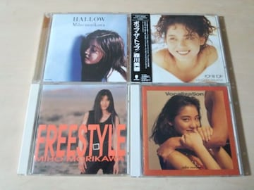 森川美穂CD4枚セットFREESTYLE VOCALIZATION POP THE TOP HALLOW