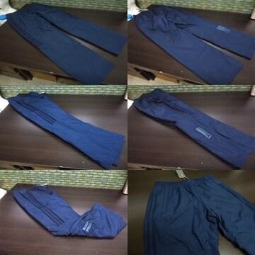 XO 紺)アディダス ウィンドブレーカーパンツ DUQ94 中綿入りロングパンツ adidas