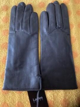 RIKAリカ革革手袋インナーニット21M