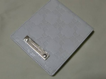 財布 パトリックコックス日本製 白