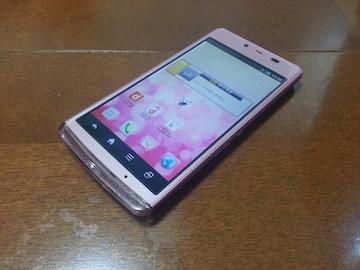 即落/即発!!超美品 SH-04E AQUOS PHONE EX ピンク
