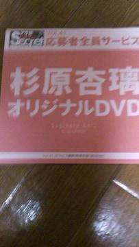 杉原杏璃全プレ購入〜DVD+[オマケ〜プラケース]