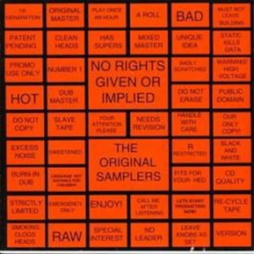 no rights given or implied the original samplers 激レア