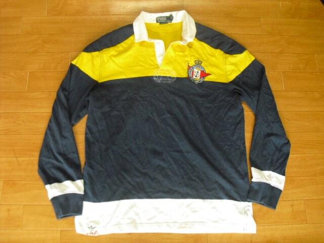 RALPH LAUREN ラルフローレン ラガーシャツ USA-L  < ブランドの