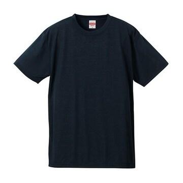6.5オンス ドライ コットンタッチ Tシャツ ネイビー XXL