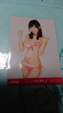 内山奈月・オフィシャルカレンダー2015生写真