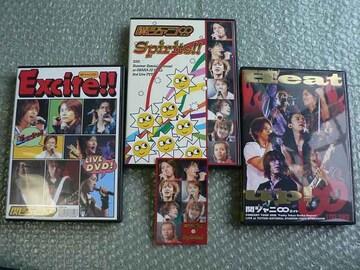 関ジャニ∞【Excite!!/Spirits!!/Heat up!】初回盤(6DVD)3枚set
