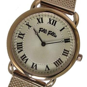 フォリフォリ クオーツ レディース 腕時計 WF16R013BPS