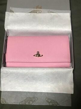 《新品未使用》ヴィヴィアンウェストウッド (ピンク)長財布