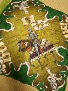 騎士柄スカーフ ノリコカズキ