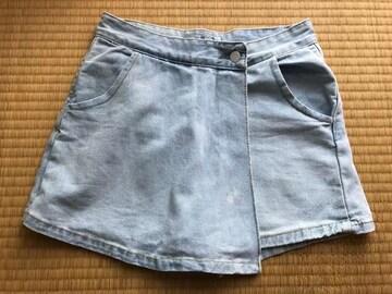 スピンズ SPINNS デニム パンツスカート ショーパン S