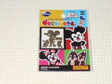 ディズニー デコレーションメタルシート ミッキー・チップ