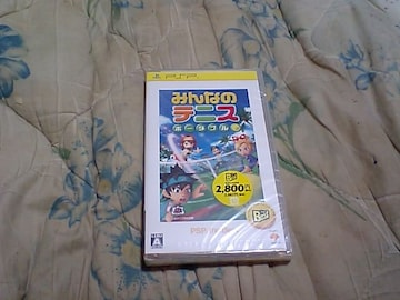 【新品PSP】みんなのテニスポータブル