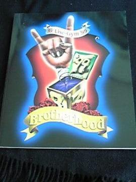 B'z Live-Gym 99 Brotherhood コンサートツアーパンフレット ライブジム 即決