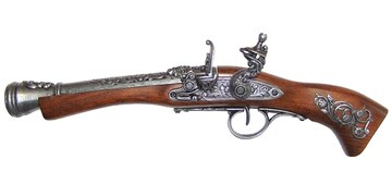 DENIX 1130/G ブランダーバス 左手用 モデルガン 模造 銃 ガン ピストル