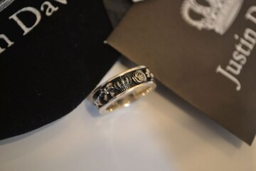 justindavisジャスティンデイビス srj425B PRINCELYリング 指輪