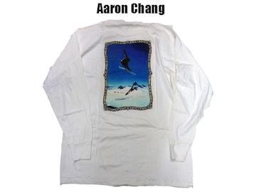 新品 長袖 Aaron Chang 90代 ロングT (XL)