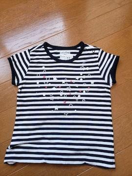 ☆美品☆baby  GAPギャップ☆白×黒半袖Tシャツ☆90