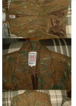 海外製 キラキラ 難有り スーツジヤケット サイズ8