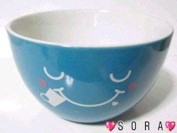 【午後の紅茶】ロゴ入りニコニコスマイルロゴ♪小ボール皿.茶碗