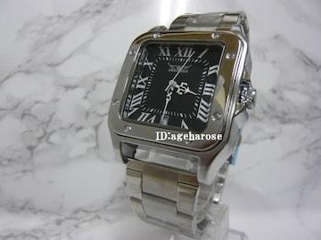 自動巻 腕時計 カレンダー付 シルバー/カルティエ好きに