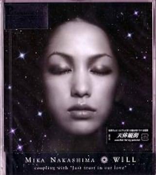 中島美嘉★WILL★初回限定盤★未開封