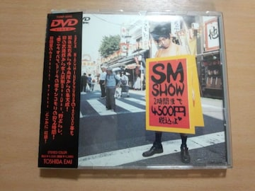 SEX MACHINEGUNS DVD「SM SHOW」●