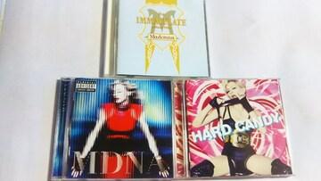 マドンナ 3枚セット(ベストアルバム+HARD CANDY+MDNA)
