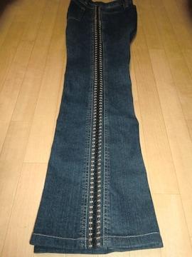 ★新品★高品質刺繍使いブーツカットジーンズ13号70%OFF