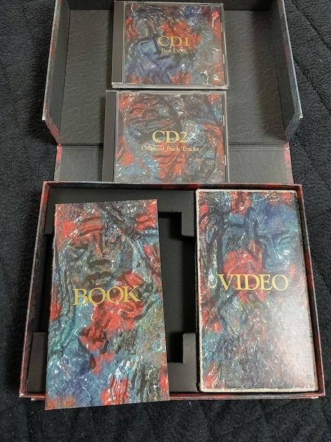 X JAPAN VHS CD B.O.X YOSHIKI hide toshi pata taiji  < タレントグッズの