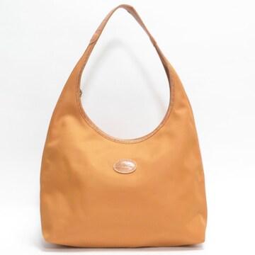 Longchampロンシャン ショルダーバッグ オレンジ 良品 正規品